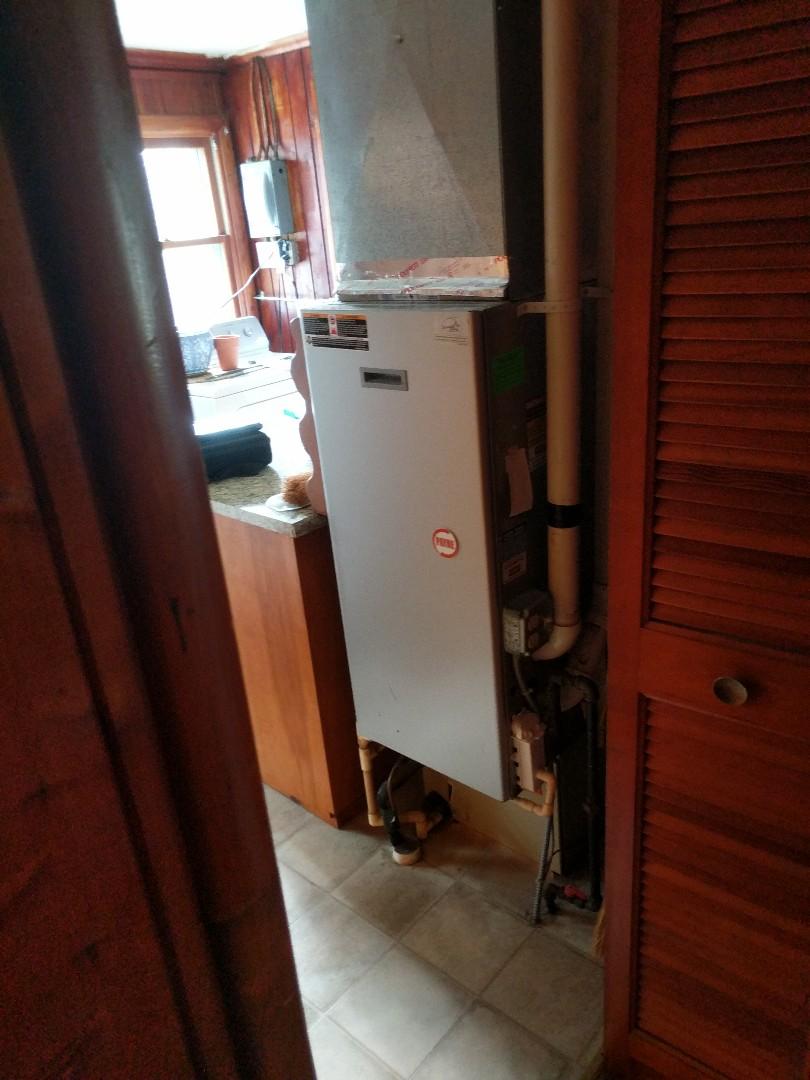 Lexington, MI - Payne furnace repair.