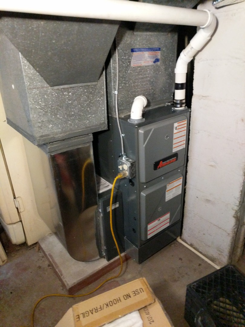 Port Huron, MI - New Amana furnace installed.