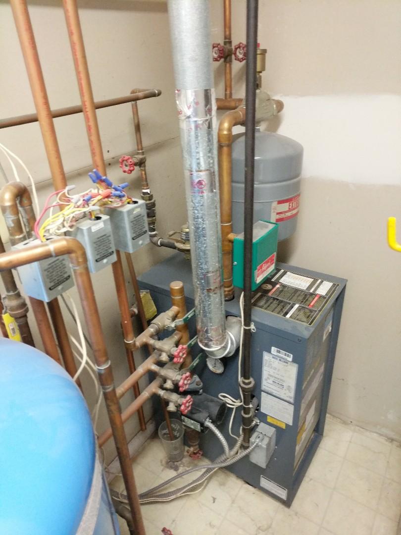 Marysville, MI - Weil Mclain boiler maintenance.