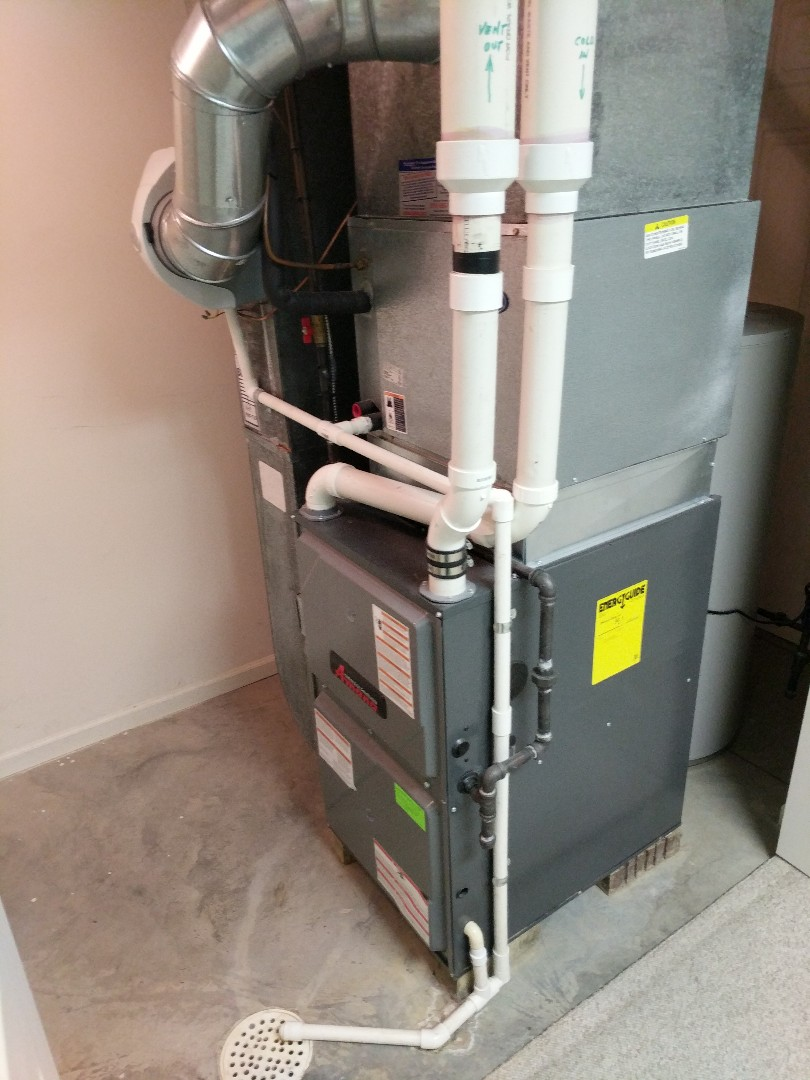 Port Huron, MI - Amana furnace clean and check with filter change.