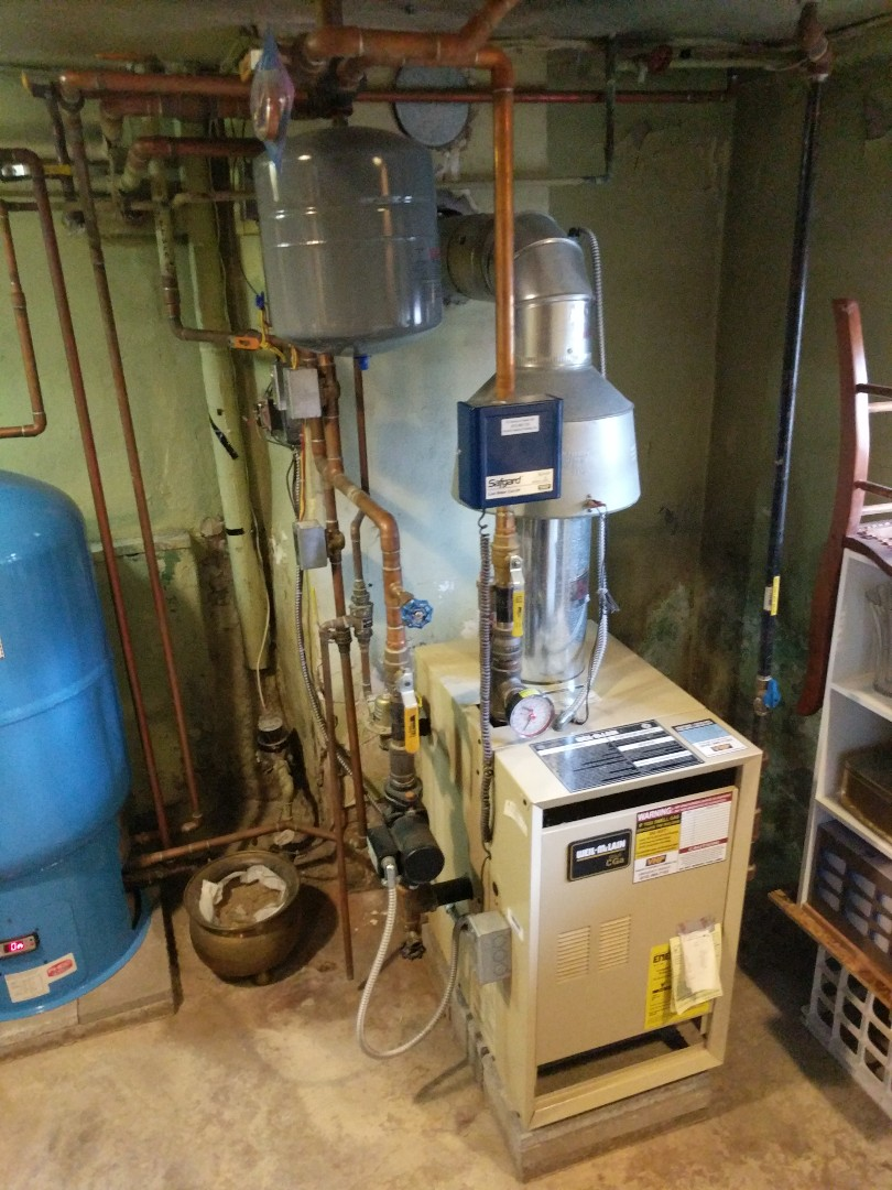 Port Huron, MI - Weil Mclain boiler tune up with repair needed.