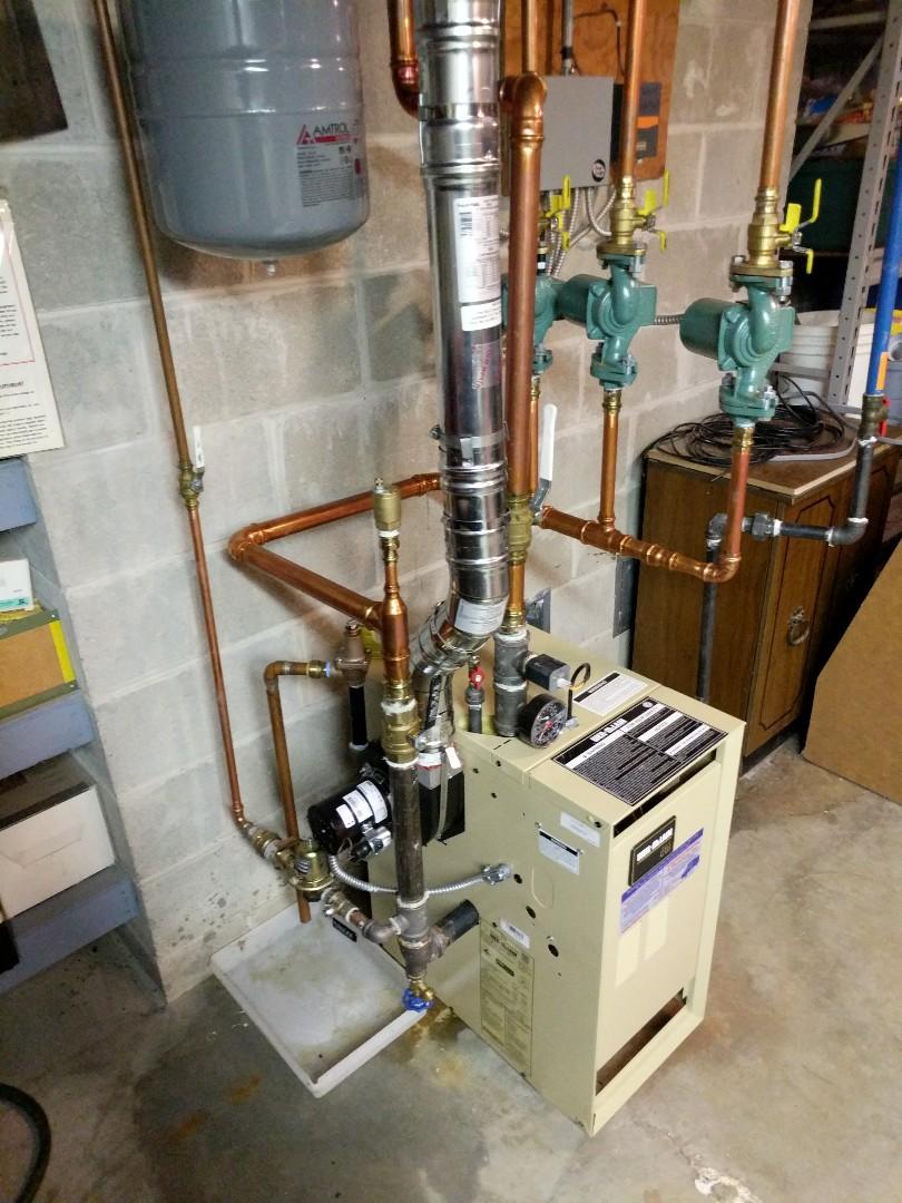 Saint Clair, MI - Replace valve on boiler.