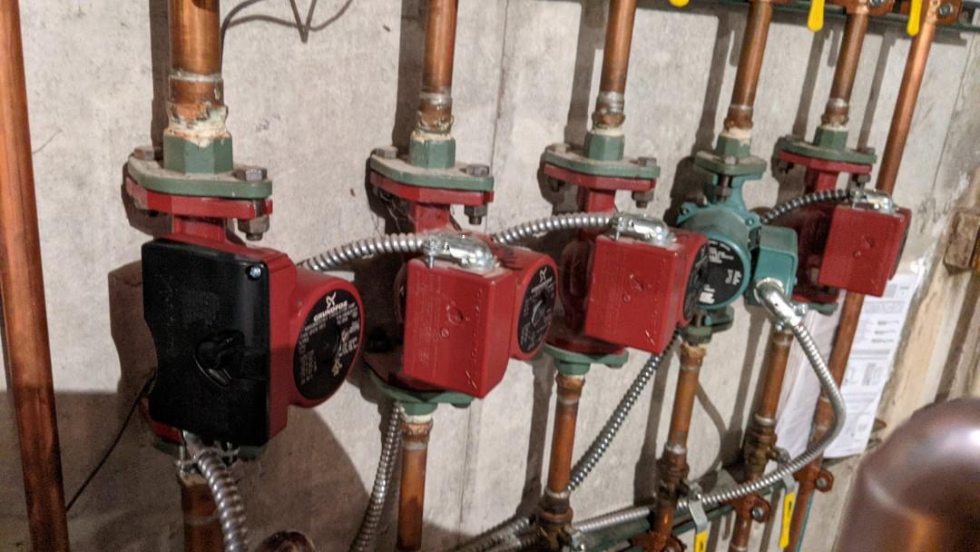 Lakeport, MI - Boiler circulator repair