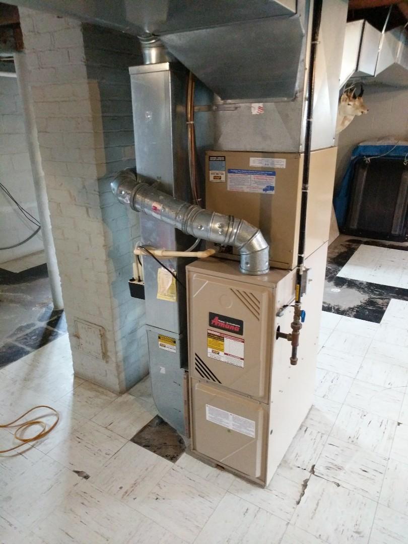 Marine City, MI - Amana furnace and AC tune ups 2021.