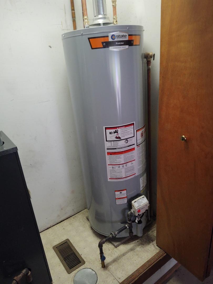 Lexington, MI - State Water heater install