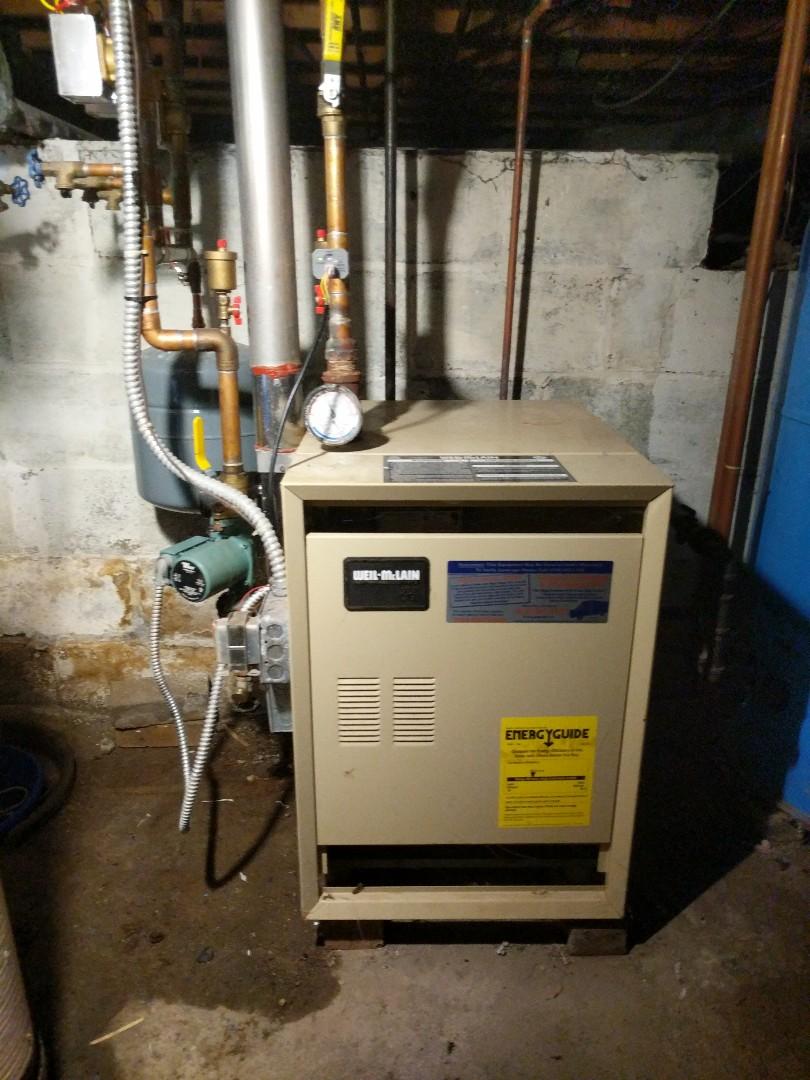 Lexington, MI - Boiler repair.
