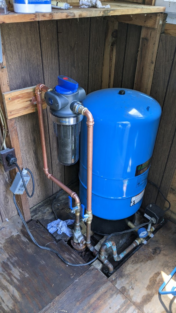 Lexington, MI - Water filter repair