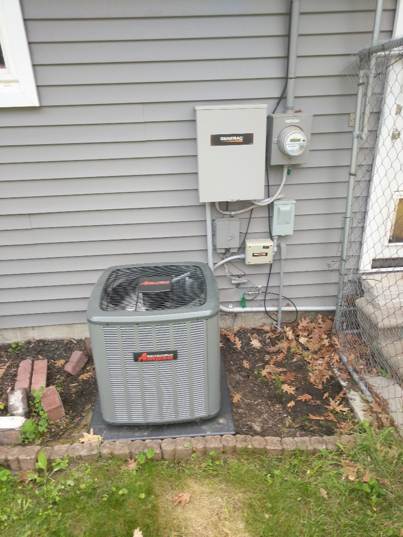 Fort Gratiot Township, MI - Install new Amana AC system.