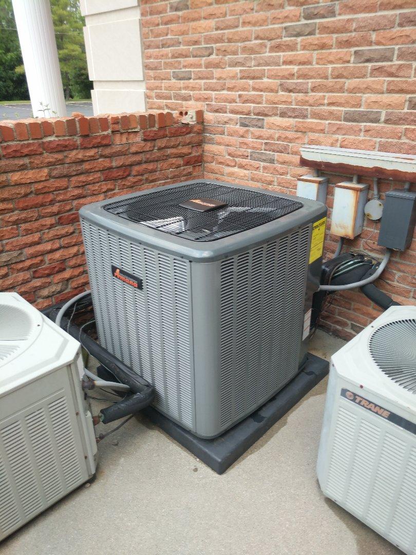 Marysville, MI - Install crankcase heater on AC.