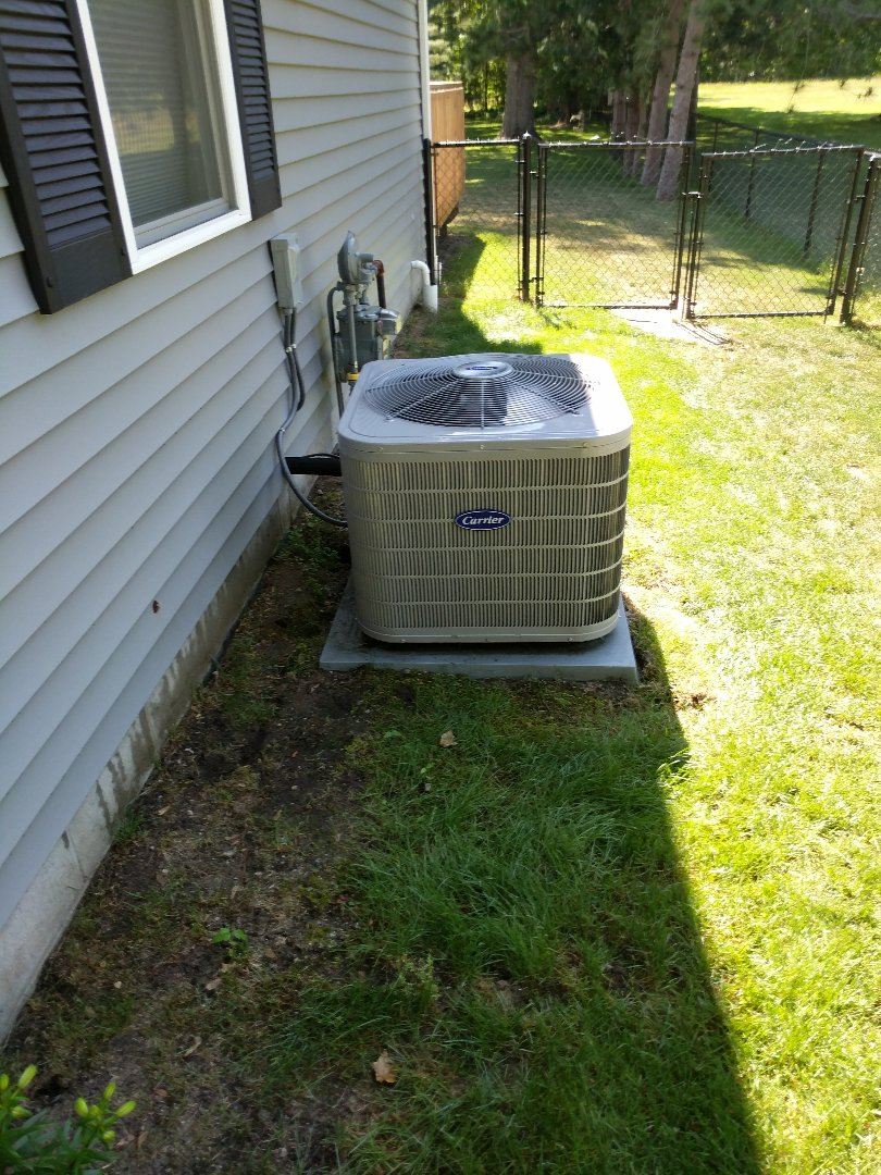 Fort Gratiot Township, MI - Carrier AC tune up, and joined our maintenance program.