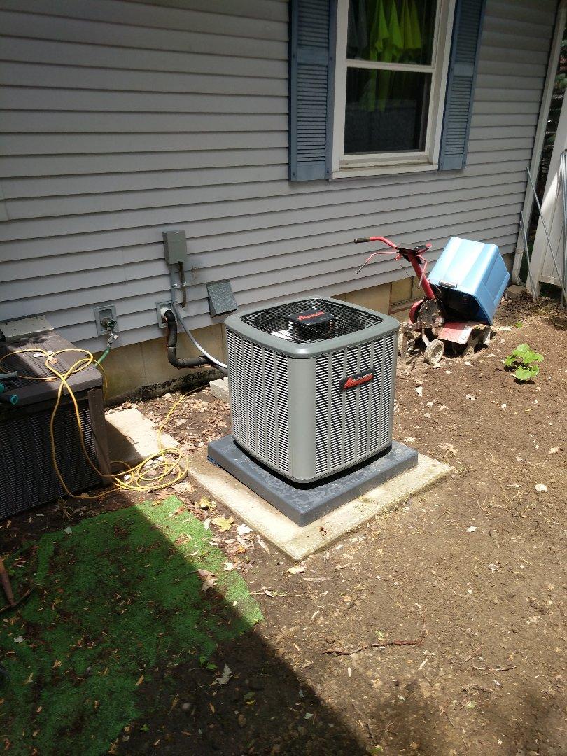 Marysville, MI - New AC installation.