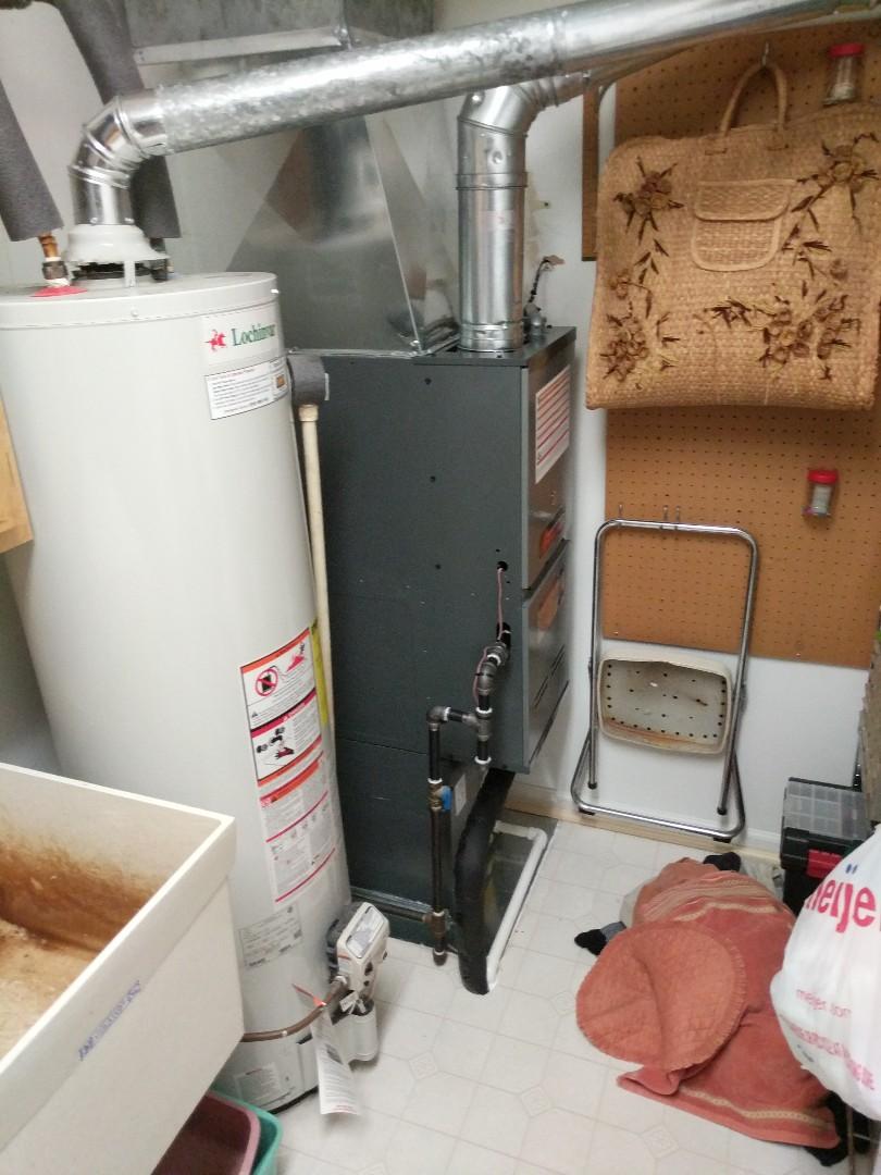 Marysville, MI - New furnace and AC installed.