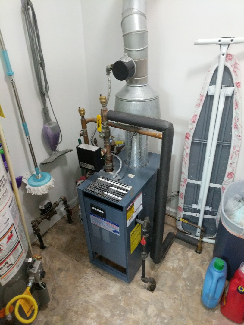 Smiths Creek, MI - Weil Mclain boiler tune up and needed repair.