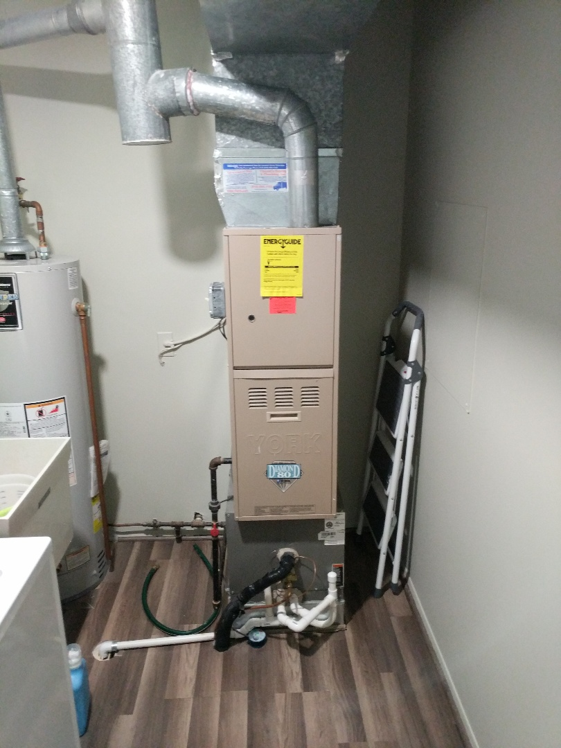 Saint Clair, MI - York furnace tune up with proactive repairs done.