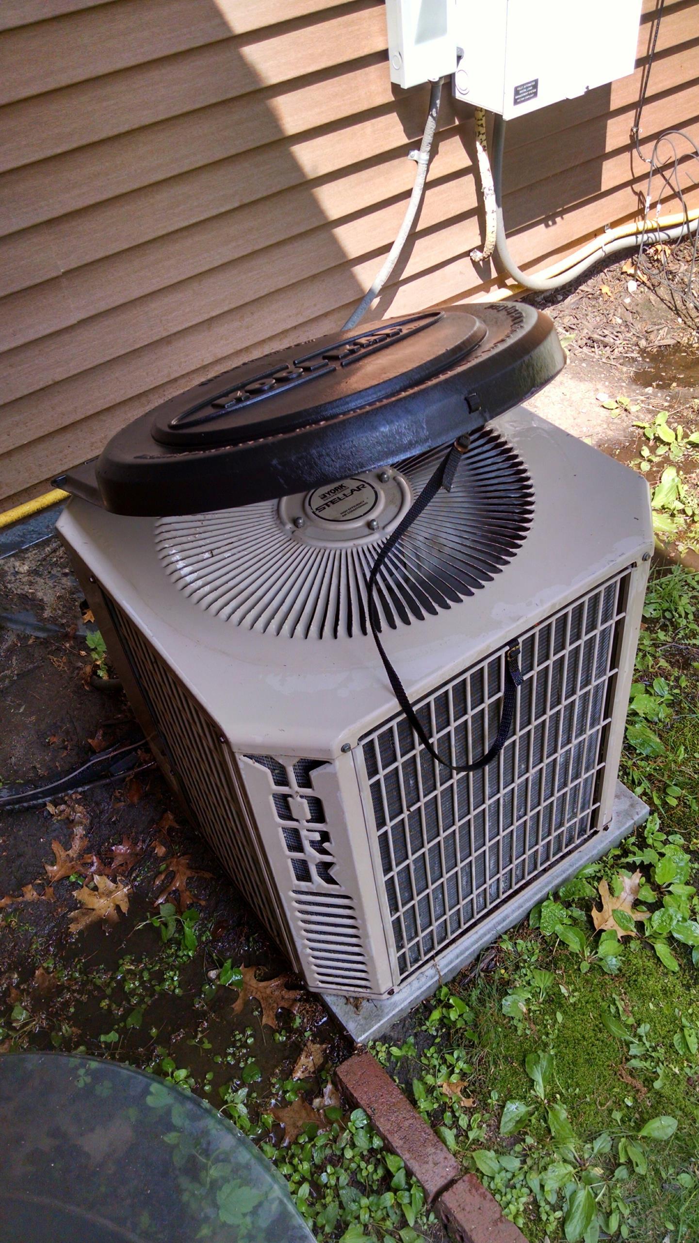 Columbus, MI - York air conditioning tune up.
