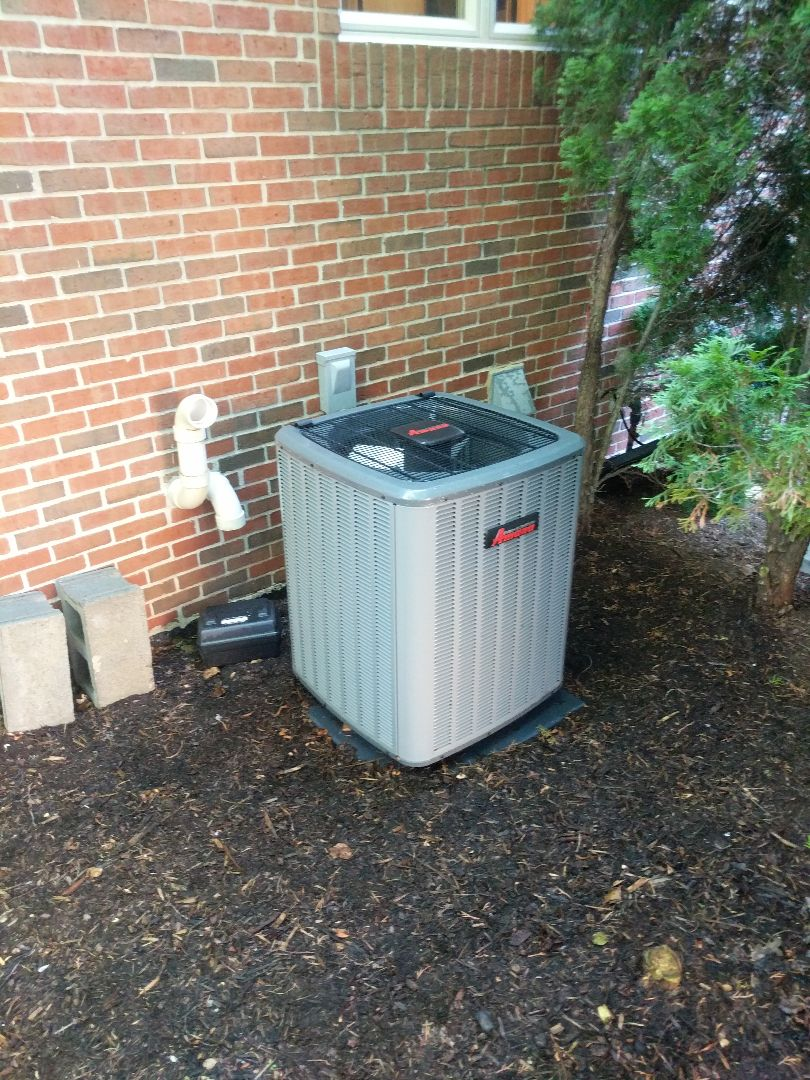 Saint Clair, MI - Amana AC tune up with filter change.