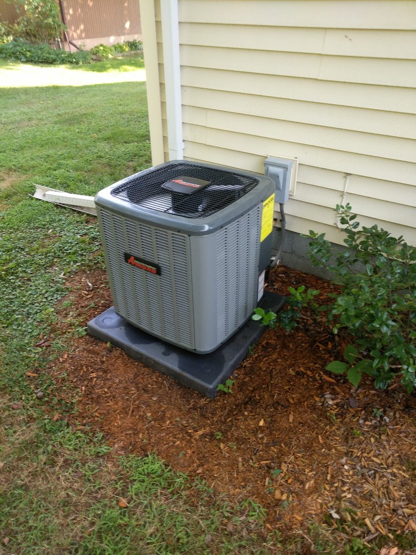 East China, MI - Amana AC tune up and filter change.