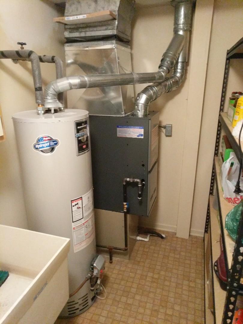 Marysville, MI - New Amana furnace installed.