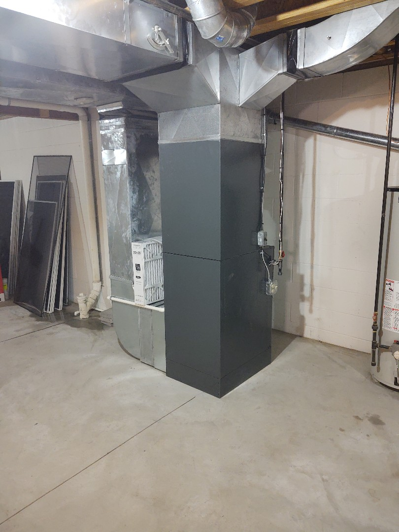Fort Gratiot Township, MI - Amana furnace and ac install Aprilaire Humidifier install