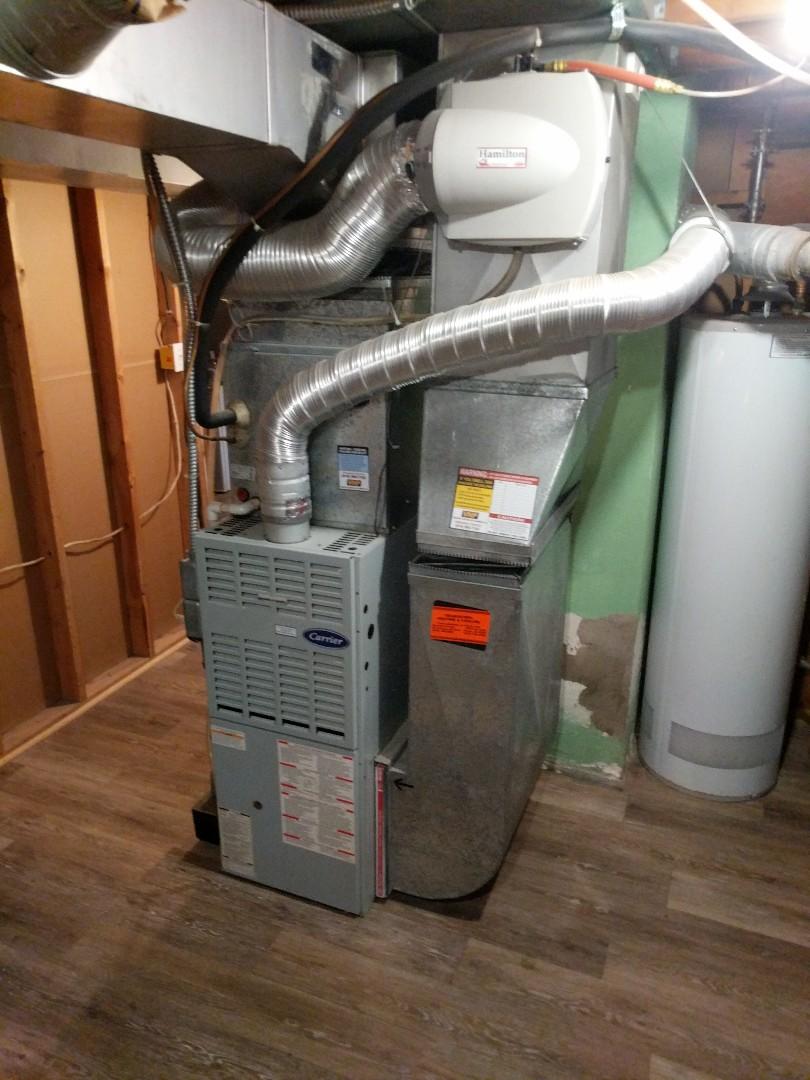 Port Huron, MI - Carrier furnace tune up.