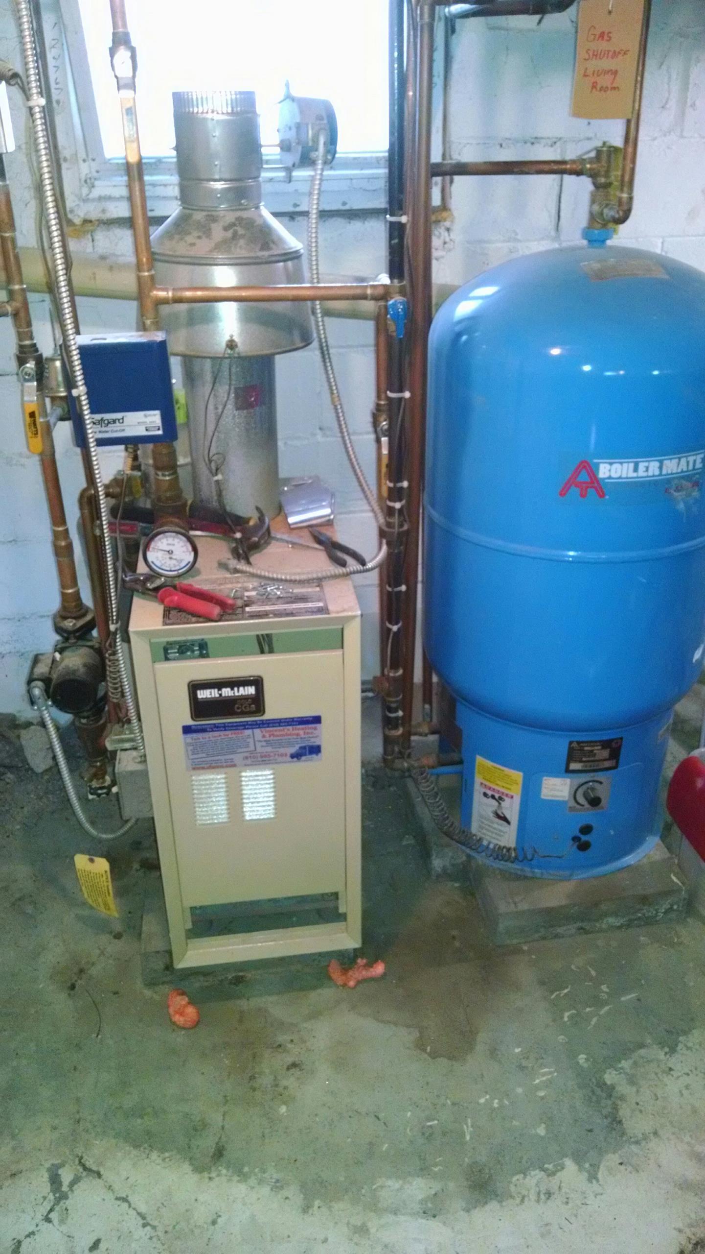 Saint Clair, MI - Boiler tune up