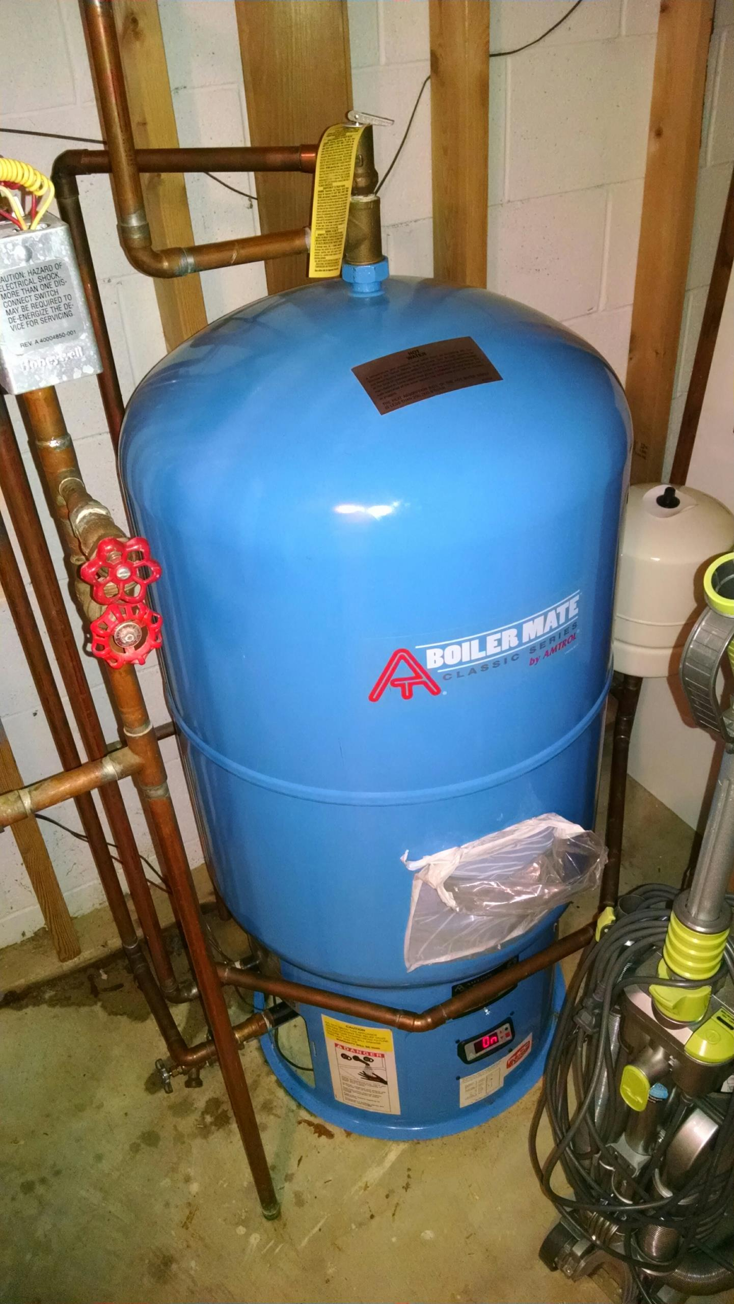 Lakeport, MI - Replaced expansion tank