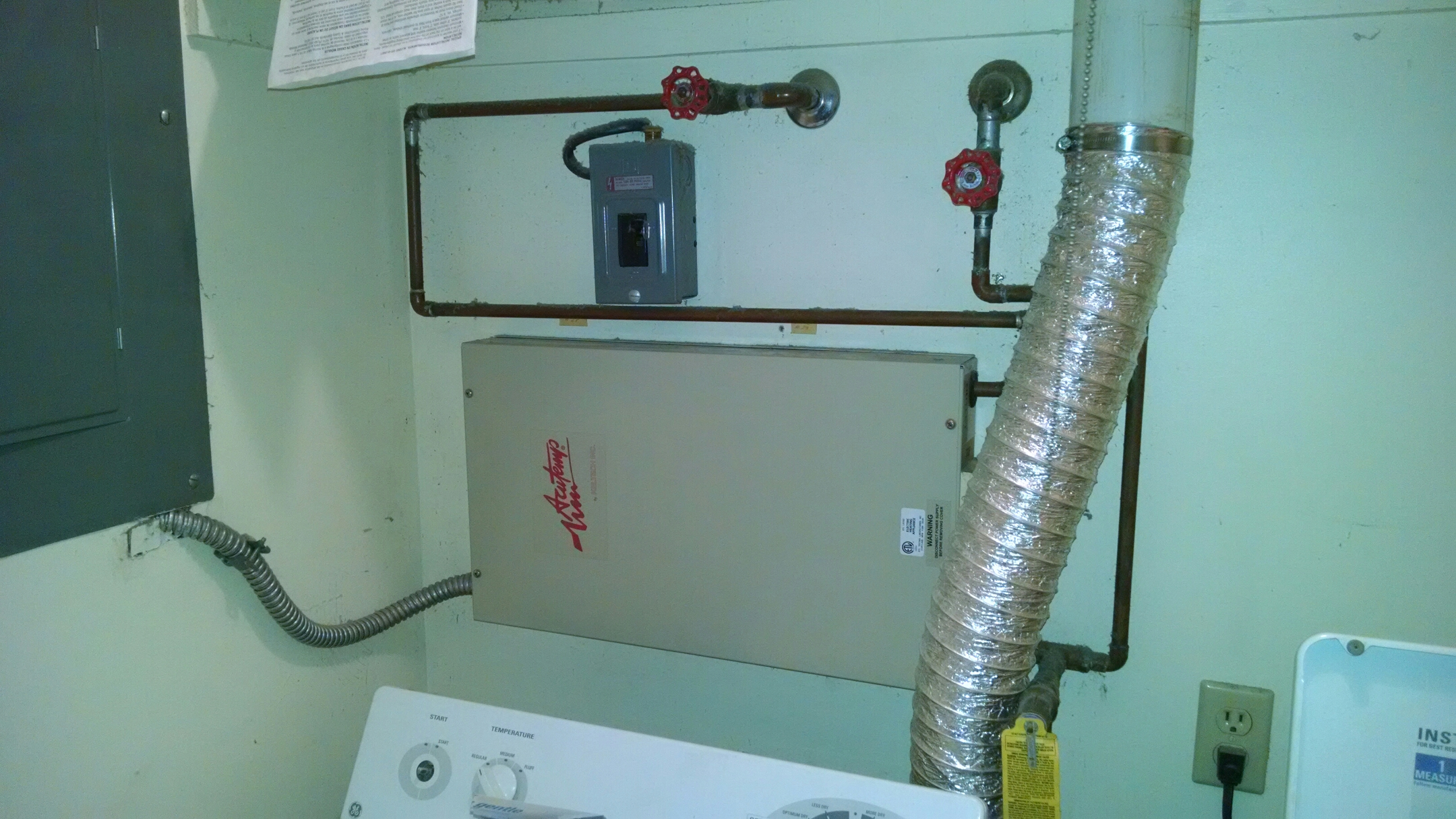 Lexington, MI - Replace tankless water heater