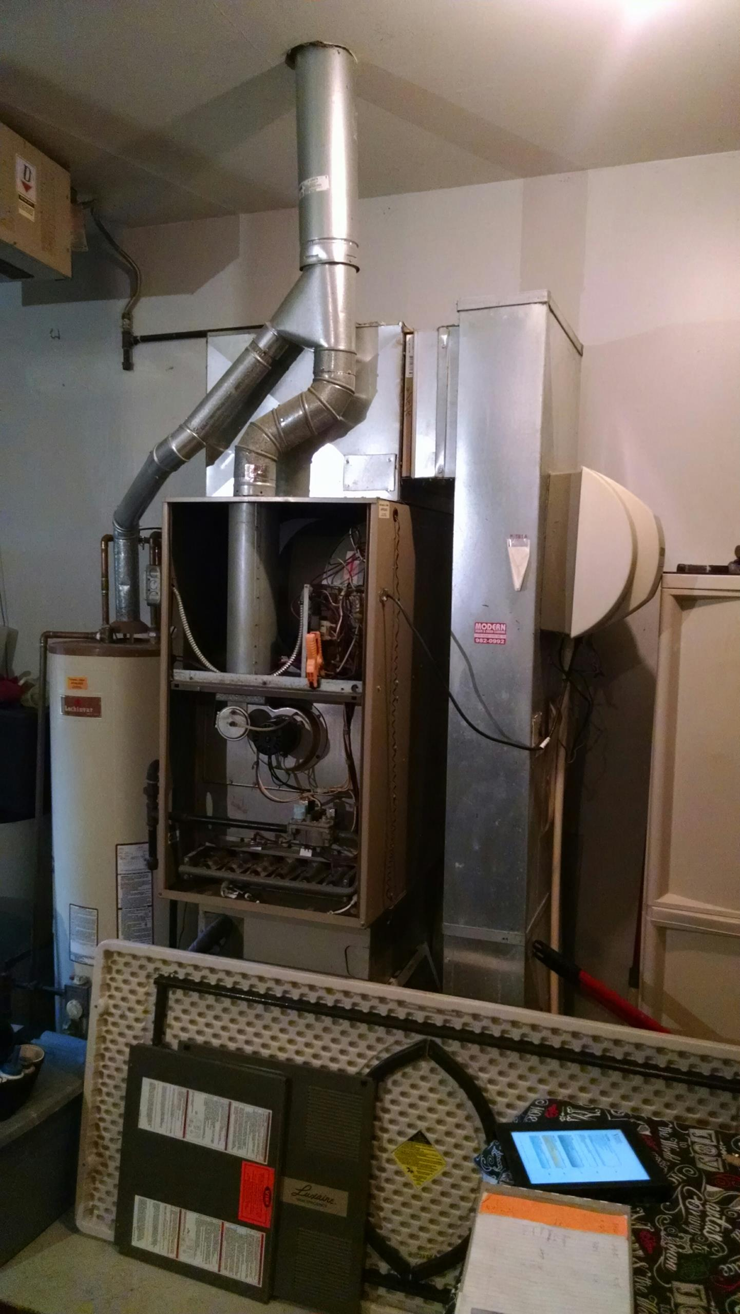 Yale, MI - Furnace tune up