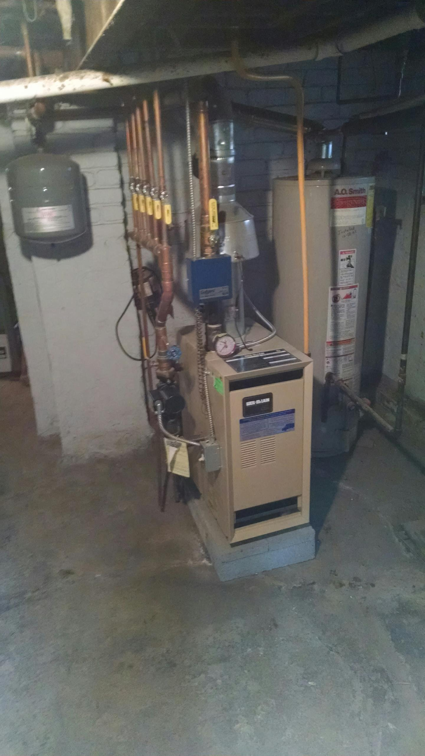 Ira Township, MI - Efficiency United boiler tune up.
