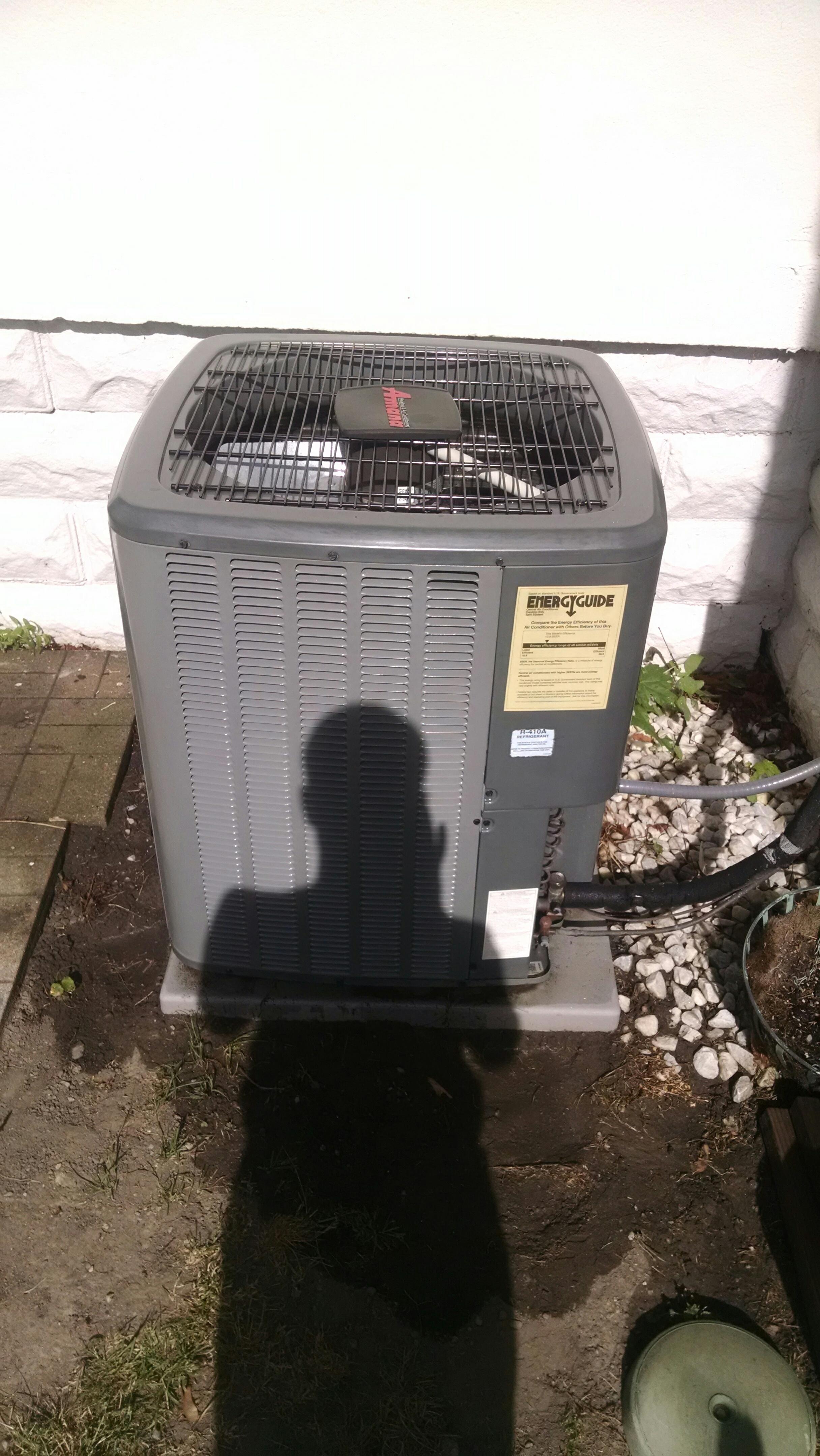 Saint Clair, MI - Check charge and clean AC coils.