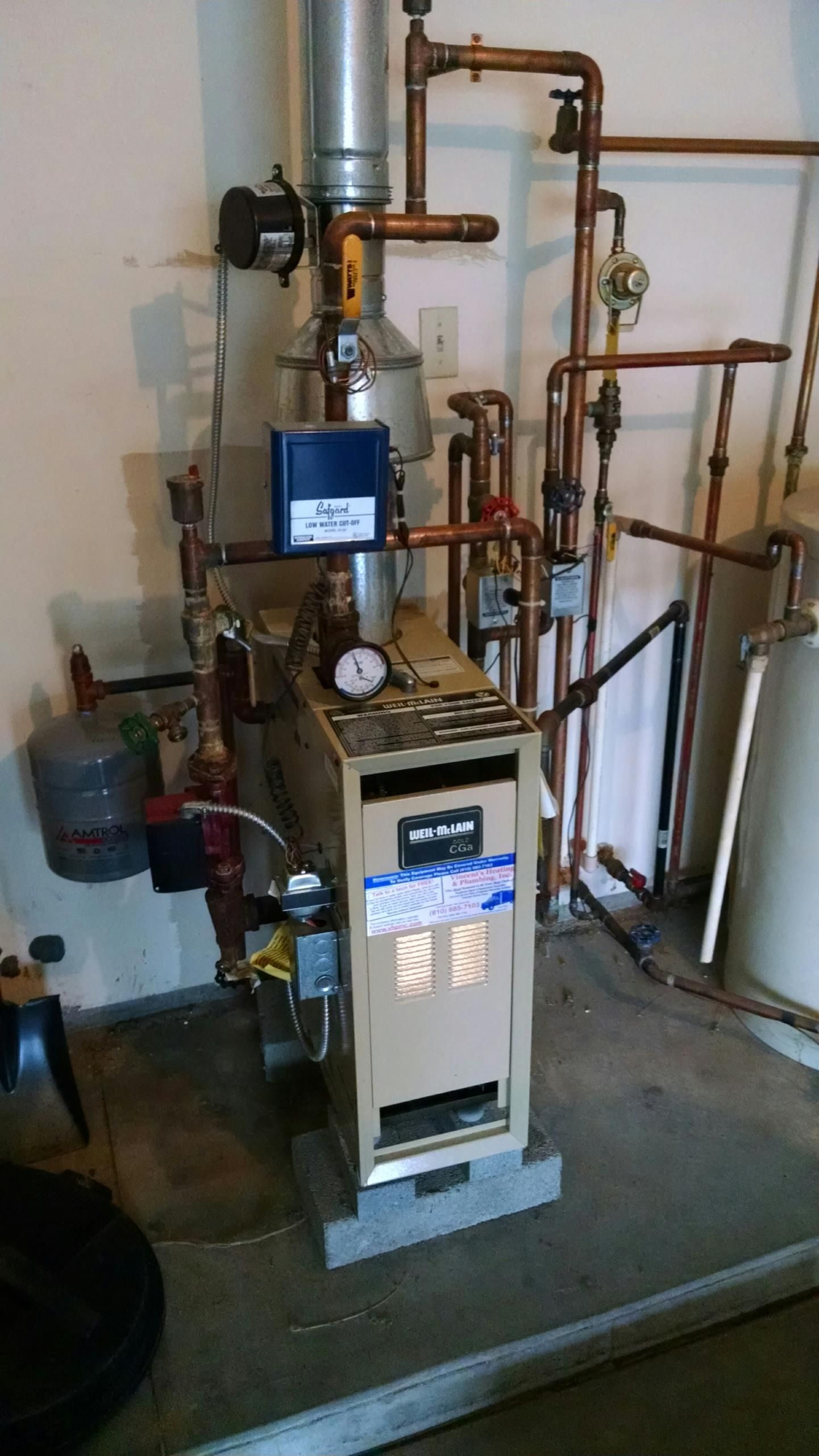 Lexington, MI - Boiler maintenance tune up