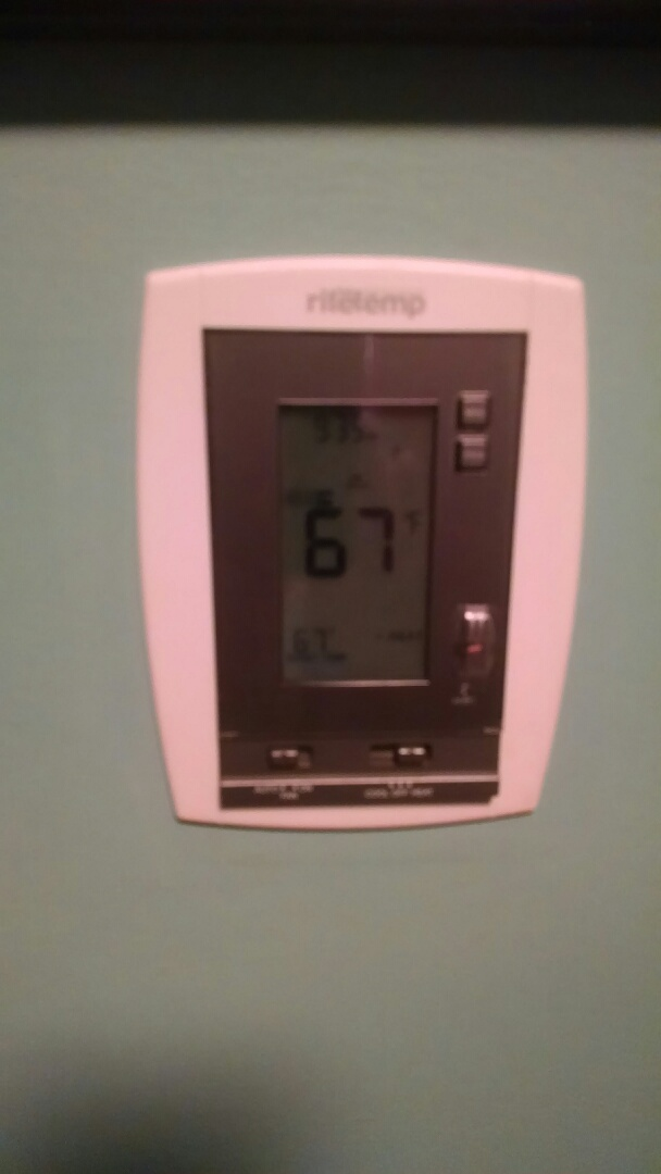 Algonac, MI - Repair ritetemp thermostat.
