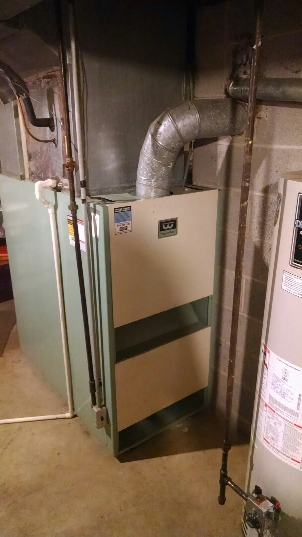 Croswell, MI - Check condition and safeties on old Williamson furnace.