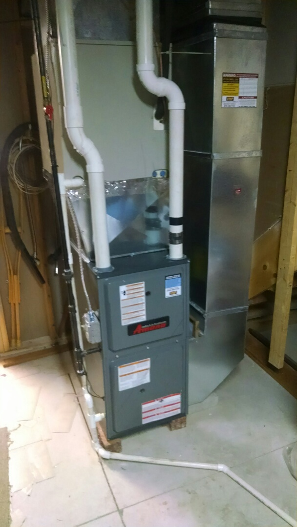 Croswell, MI - New furnace inspection and calibration.