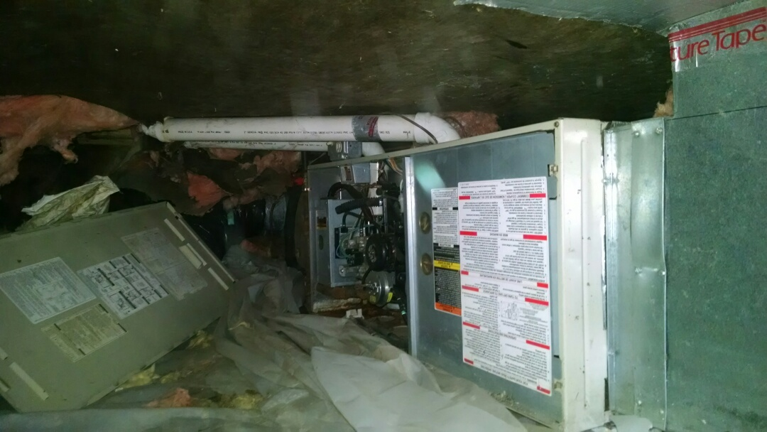 East China, MI - Emergency furnace repair