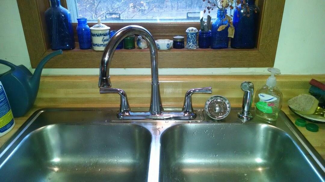 Saint Clair, MI - Kitchen faucet and drain repair