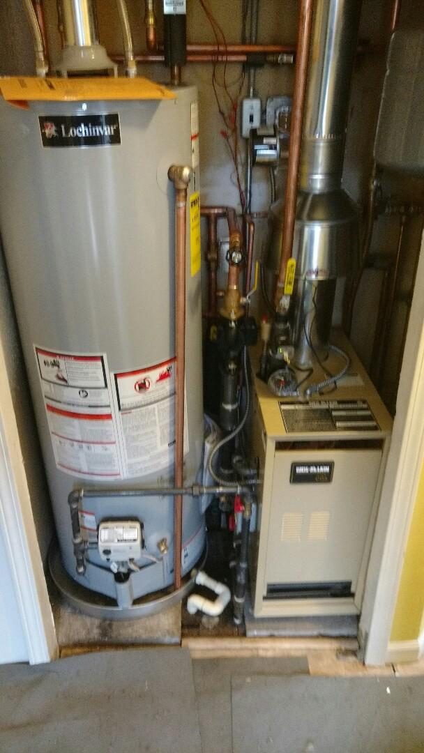 Saint Clair, MI - Install of a Weil McClain boiler