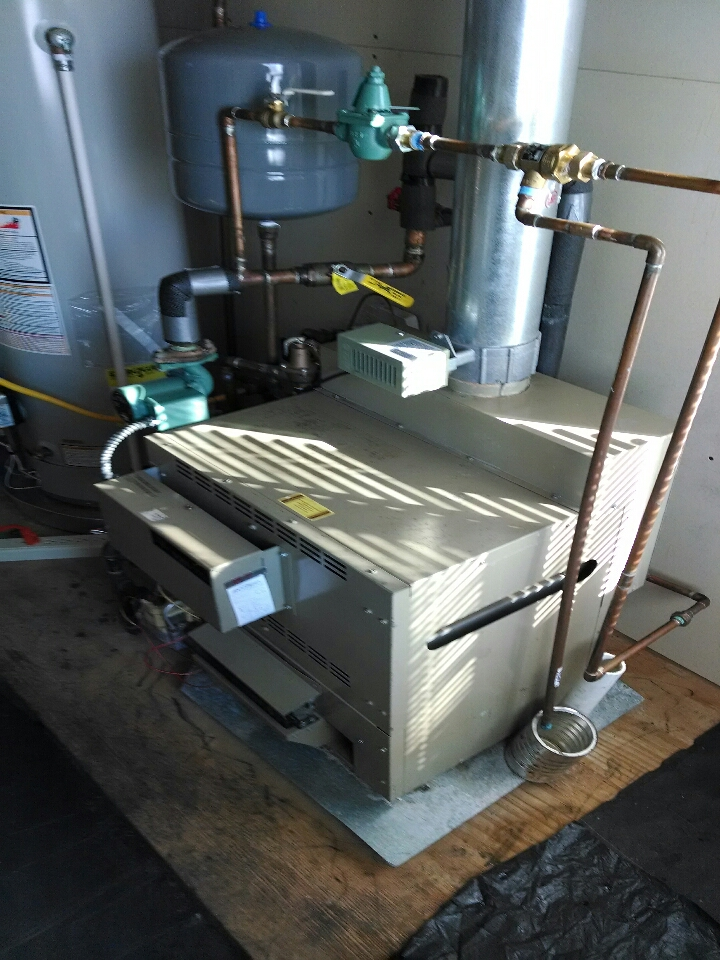 East China, MI - Lochinvar boiler tune up / maintenance