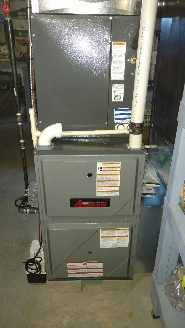 how to open amana furnace