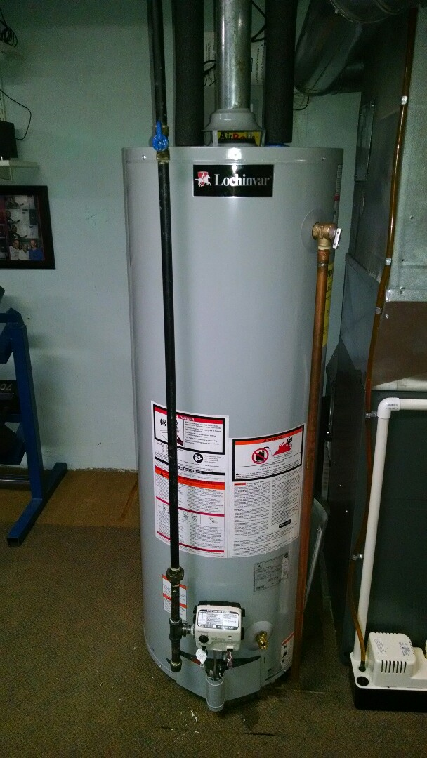 Marysville, MI - Lochinvar water heater replacement