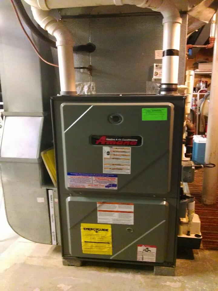 Lexington, MI - Amana furnace tune up
