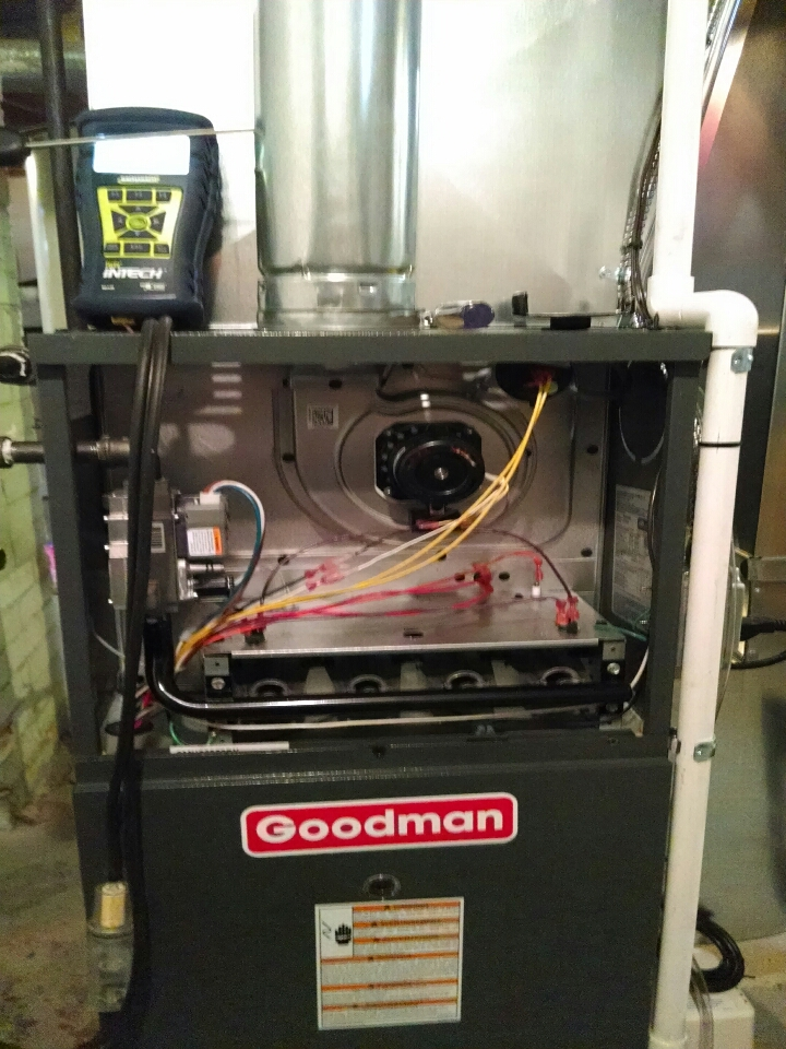 Yale, MI - new furnace set up for efficiency