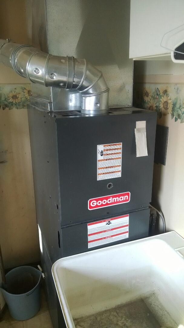 Memphis, MI - Goodman furnace tune up.