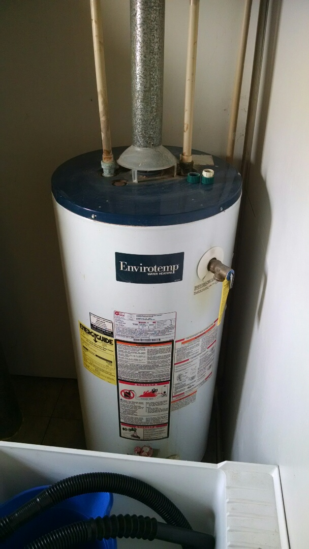 Yale, MI - Broken water heater propane
