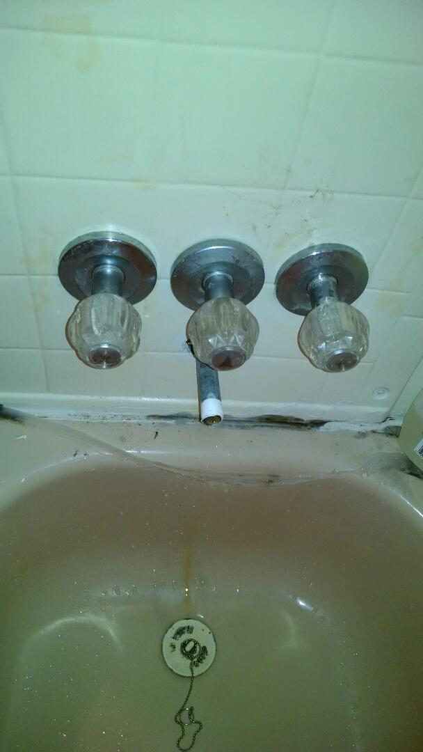 Marine City, MI - Bathtub faucet repair mobile home