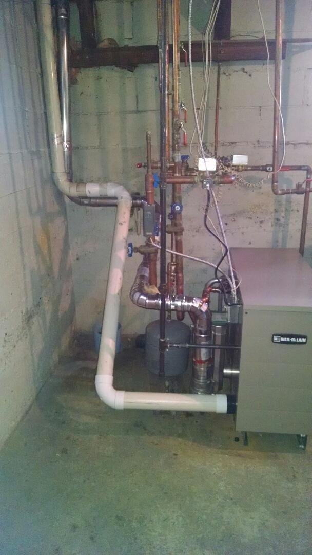 Memphis, MI - Boiler leak repair