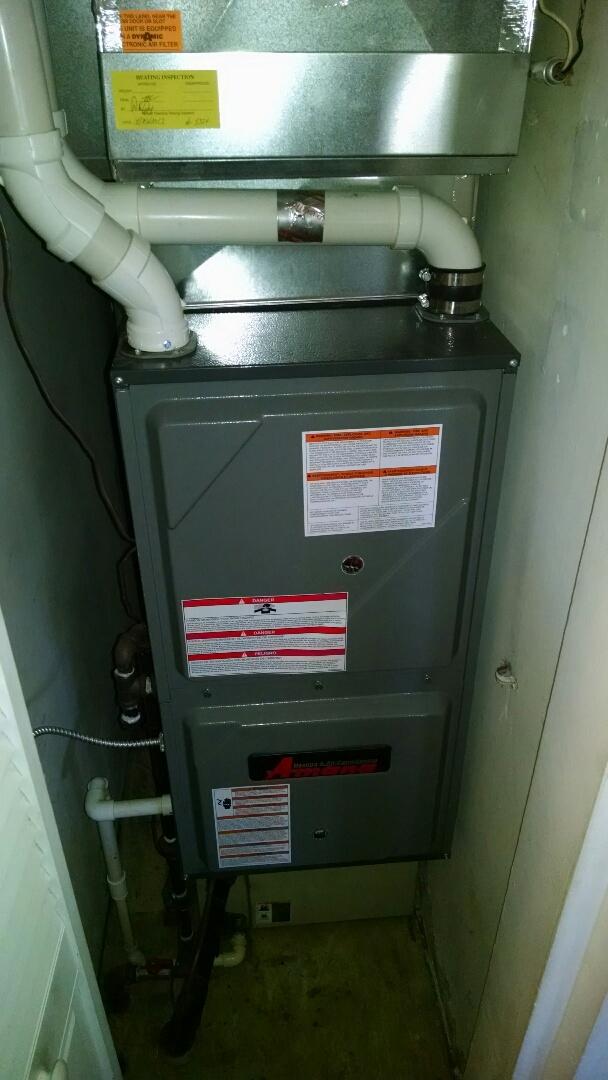 Kimball, MI - Amana furnace repair