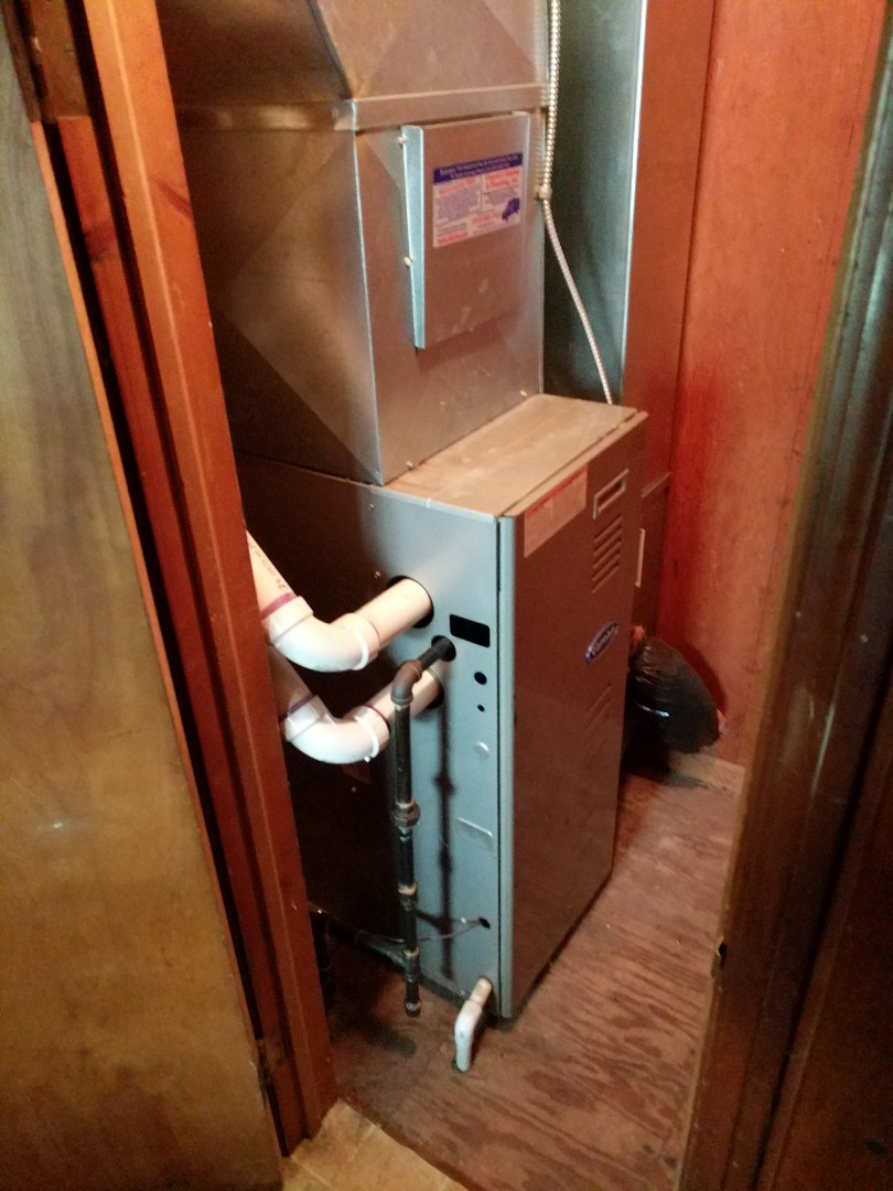 Burtchville, MI - Carrier furnace replacement.