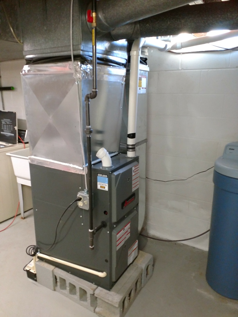 Avoca, MI - Furnace maintenance on high efficiency furnace
