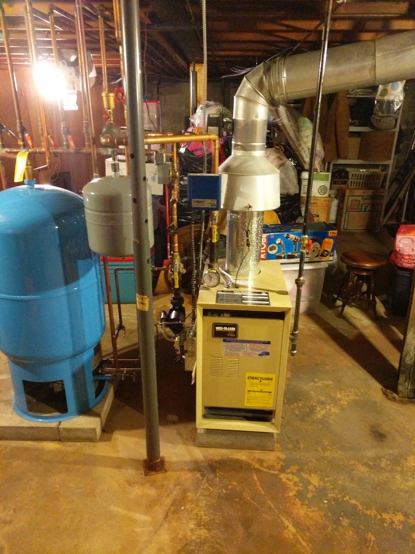China Township, MI - Tune up on Weil McLain boiler.